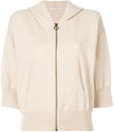 Agnona ring pull hoodie
