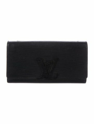 Louis Vuitton Epi Louise Wallet Black