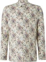 Peter Werth Men's Orient Long Sleeve Paisley Cotton Shirt