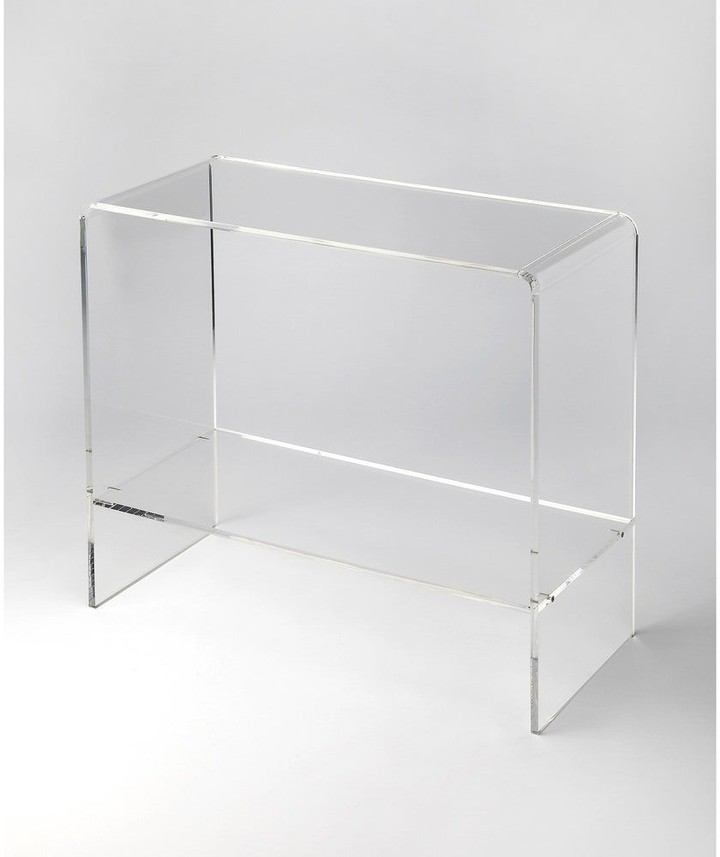 Thumbnail for your product : Butler Handmade Crystal Clear Acrylic Console Table