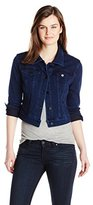 Liverpool Jeans Company Women's Cropped Powerflex Denim Jacket