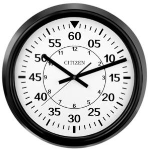 Citizen Gallery Black indoor/Outdoor Wall Clock