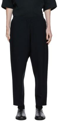 Issey Miyake Navy Seamless Lounge Pants