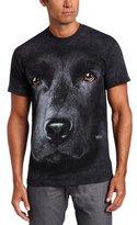 The Mountain Men's Black Lab Face T-shirt, Black, Medium