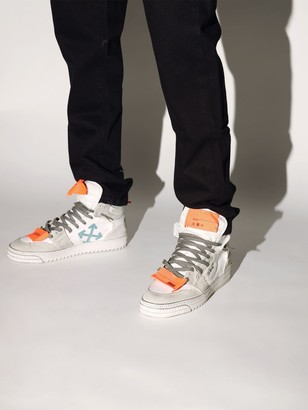 Off-White Off White LVR EXCLUSIVE LOGO HIGH-TOP SNEAKERS