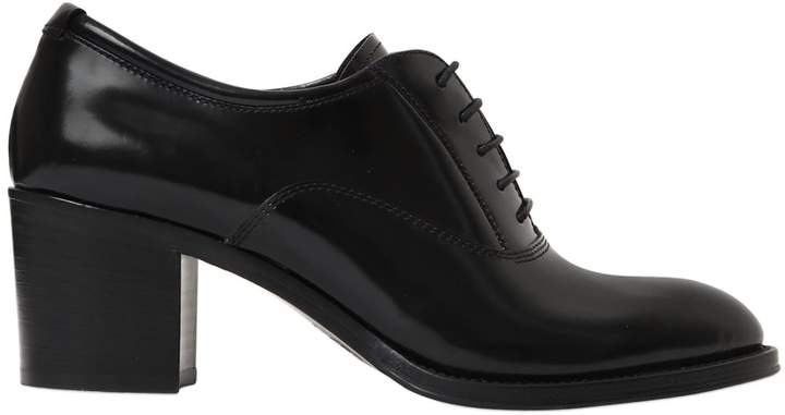 Church's 55mm Sathene Leather Lace-Up Pumps