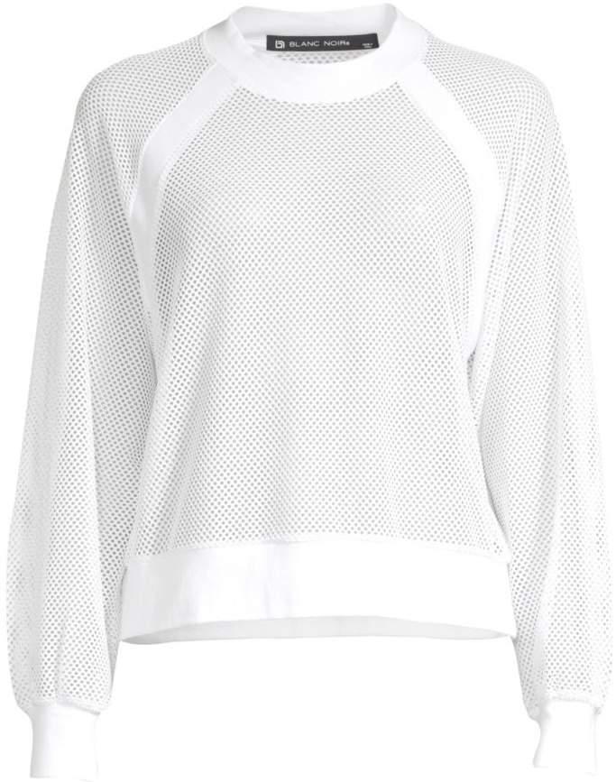 Blanc Noir Irie Mesh Sweatshirt