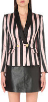 Balmain Striped twill suit jacket
