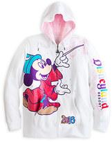 Disney Sorcerer Mickey Mouse and Friends Zip Hoodie for Women - Disneyland 2016