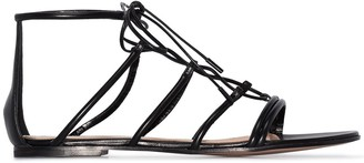 Gianvito Rossi Leather Gladiator Sandals