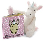 Jellycat Infant 'If I Were A Unicorn' Board Book