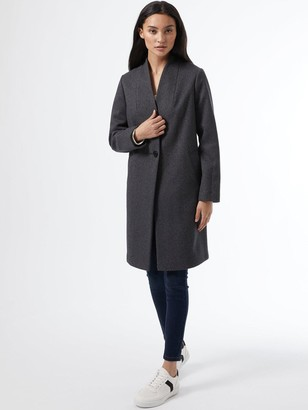 Dorothy Perkins PetiteCollarless Jacket - Charcoal