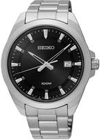 Seiko Men's Special Value Stainless Steel Bracelet Watch 42mm SUR209