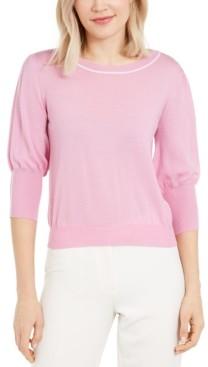 Marella Wool Boat-Neck Sweater