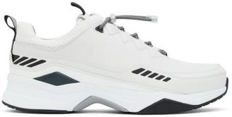 HUGO BOSS Off-White Block Running Sneakers