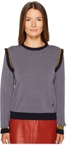 Sonia Rykiel Mini Argyle Jacquard Pull Women's Clothing