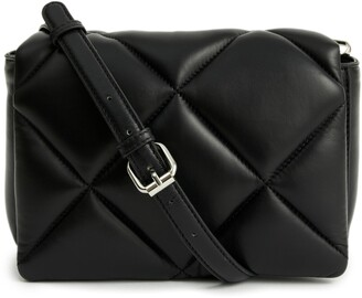 Stand Studio Brynn Quilted Lambskin Leather Shoulder Bag