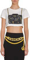 Moschino Short Cotton Jersey T-shirt