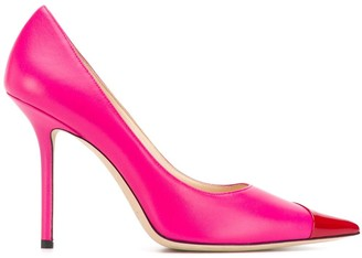 Jimmy Choo Love 100mm pumps