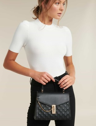 Forever New Poppy Chain Lock Top Handle Bag - Black - 00