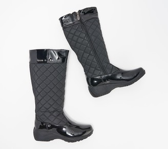 Khombu Waterproof Quilted Boots - Marylin