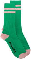 DSQUARED2 striped socks