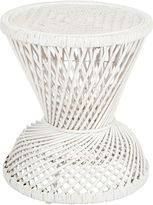Casa Uno Coastal Suri Round Side Table