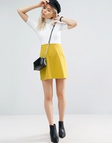 Asos Tailored A-line Mini Skirt