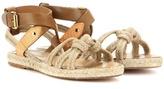 Etoile Isabel Marant Camila Rope And Leather Sandals