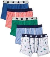 Petit Bateau 5 Pack Boxers (Toddler/Kid) - Multicolor - 4 Years