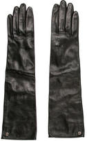 Gucci Leather GG Gloves