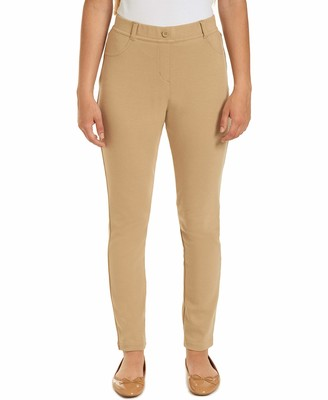 Chaps Womens Uniform Mid Rise Stretch Jegging