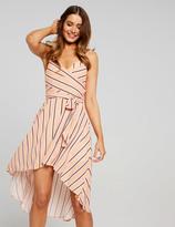 Dotti Natasha Stipe Hi Lo Maxi Dress
