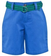 Ralph Lauren Blue Chino Shorts with Belt