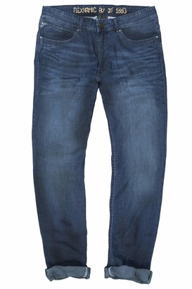 JP 1880 Men's Big & Tall Lightweight Jeans Blue Denim 54 726578 92-54