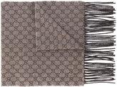 Gucci GG Jacquard UFO scarf - men - Silk/Polyester/Viscose/Cashmere - One Size