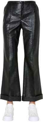 Philosophy di Lorenzo Serafini Faux Leather Pants