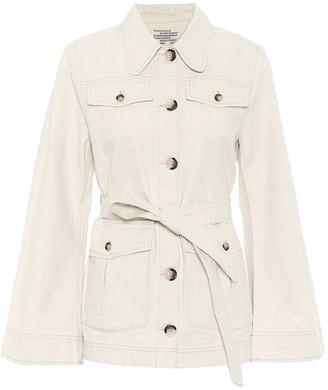 Baum und Pferdgarten Bianna cotton and linen jacket