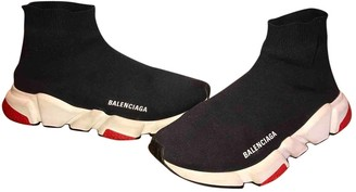 Balenciaga Speed Anthracite Cloth Trainers