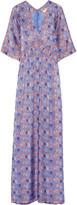 Tory Burch Corinne printed silk-blend maxi dress