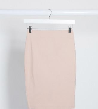 ASOS DESIGN Petite high waisted pencil skirt