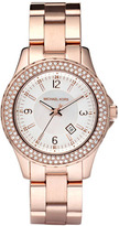 MICHAEL Michael Kors Michael Kors 'Mini Madison' Twin Row Crystal Watch, 33mm