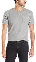 Paper Denim & Cloth Men's Dimitri Short Sleeve Pocket Crew Neck T-Shirt