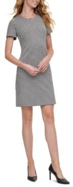 Calvin Klein Checkered Shift Dress