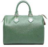 Louis Vuitton Pre-Owned Green Epi Speedy 25 Bag