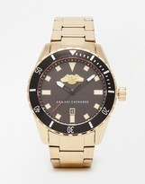 Armani Exchange Watch In Gold Ax1710 - Gold