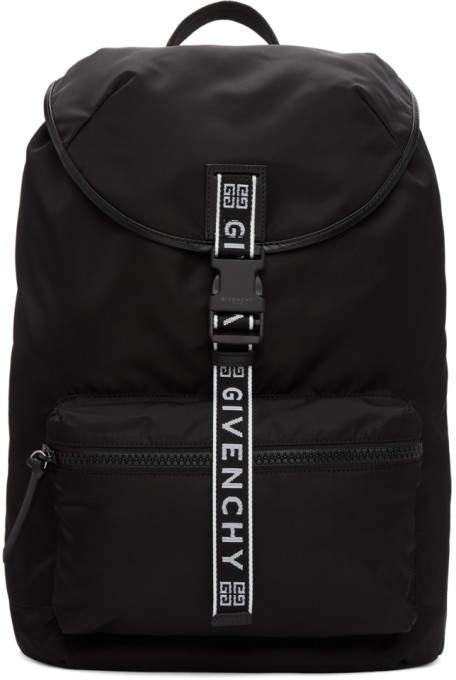 Givenchy Black 4G Light 3 Backpack