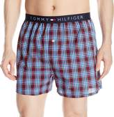 Tommy Hilfiger Men's Micro Flag Printed Woven Boxers