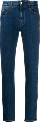 Stella McCartney Logo Embossed Jeans