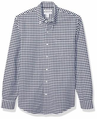 Amazon Essentials Men's Slim-Fit Long-Sleeve Solid Oxford Shirt